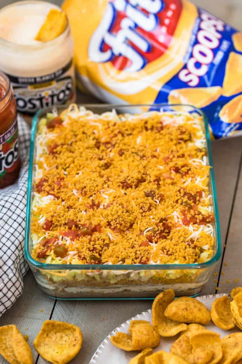 Fritos mexican layer dip.