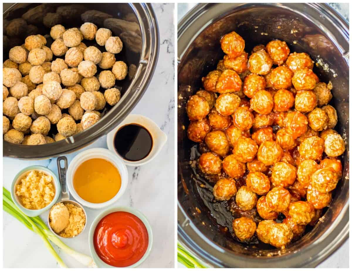how to make honey garlic meatballs