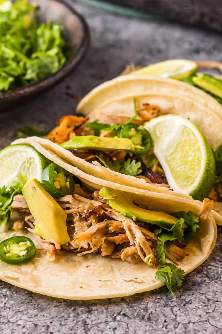 instant pot carnitas tacos