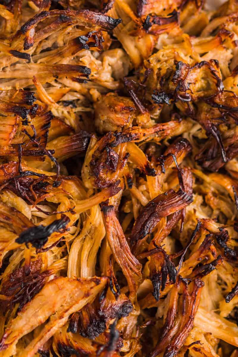 up close crispy instant pot carnitas