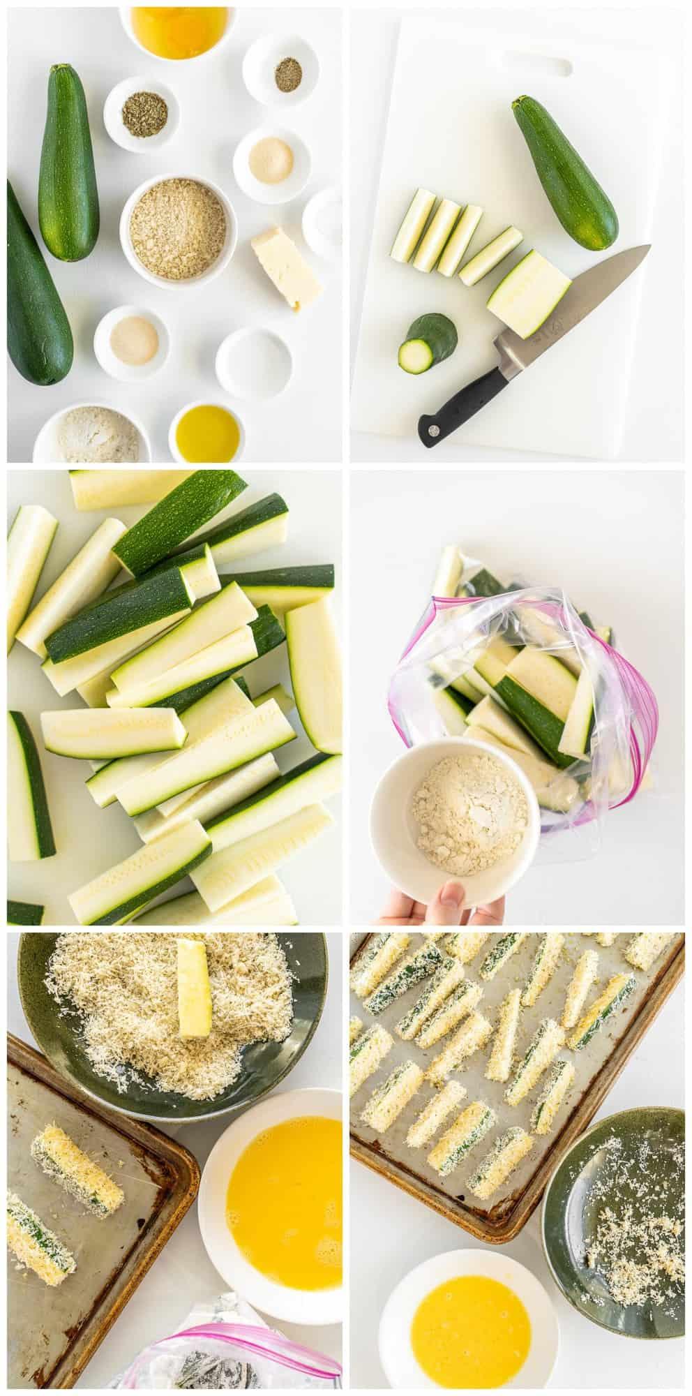 how to make zucchini fries