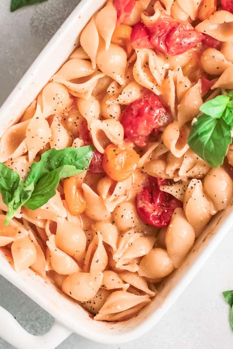 baked parmesan recipe in baking dish