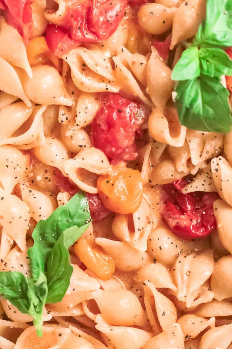 up close baked parmesan recipe in baking dish