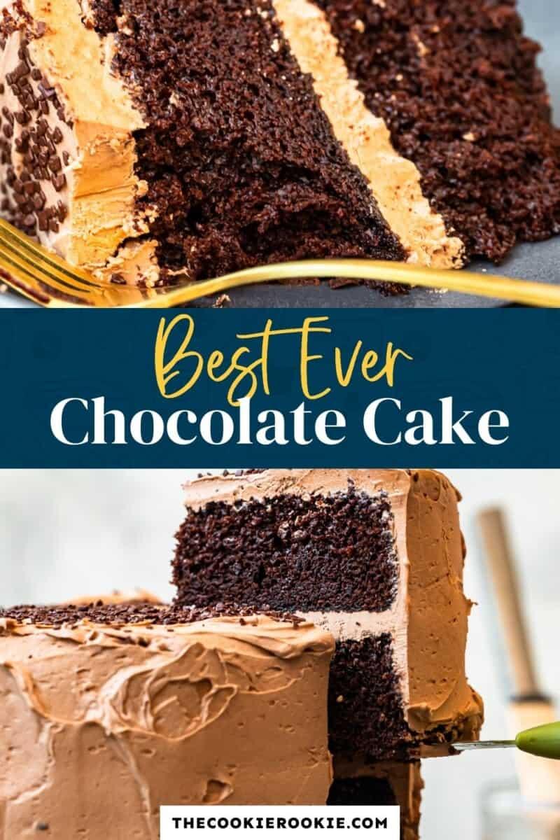best chocolate cake pinterest collage