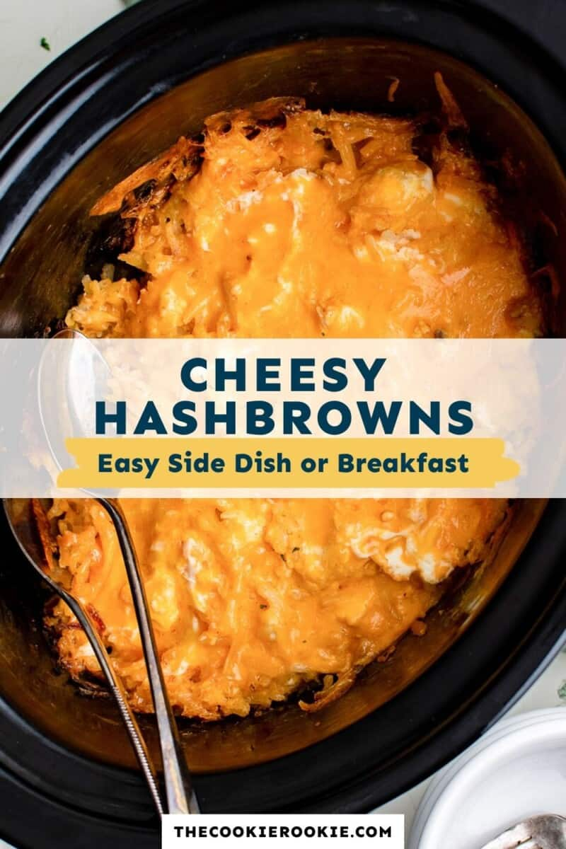 crockpot cheesy hashbrowns pinterest