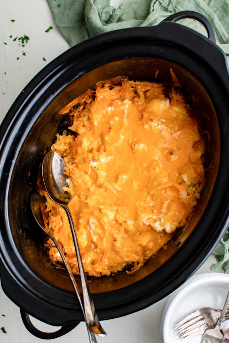 crockpot cheesy hashbrowns