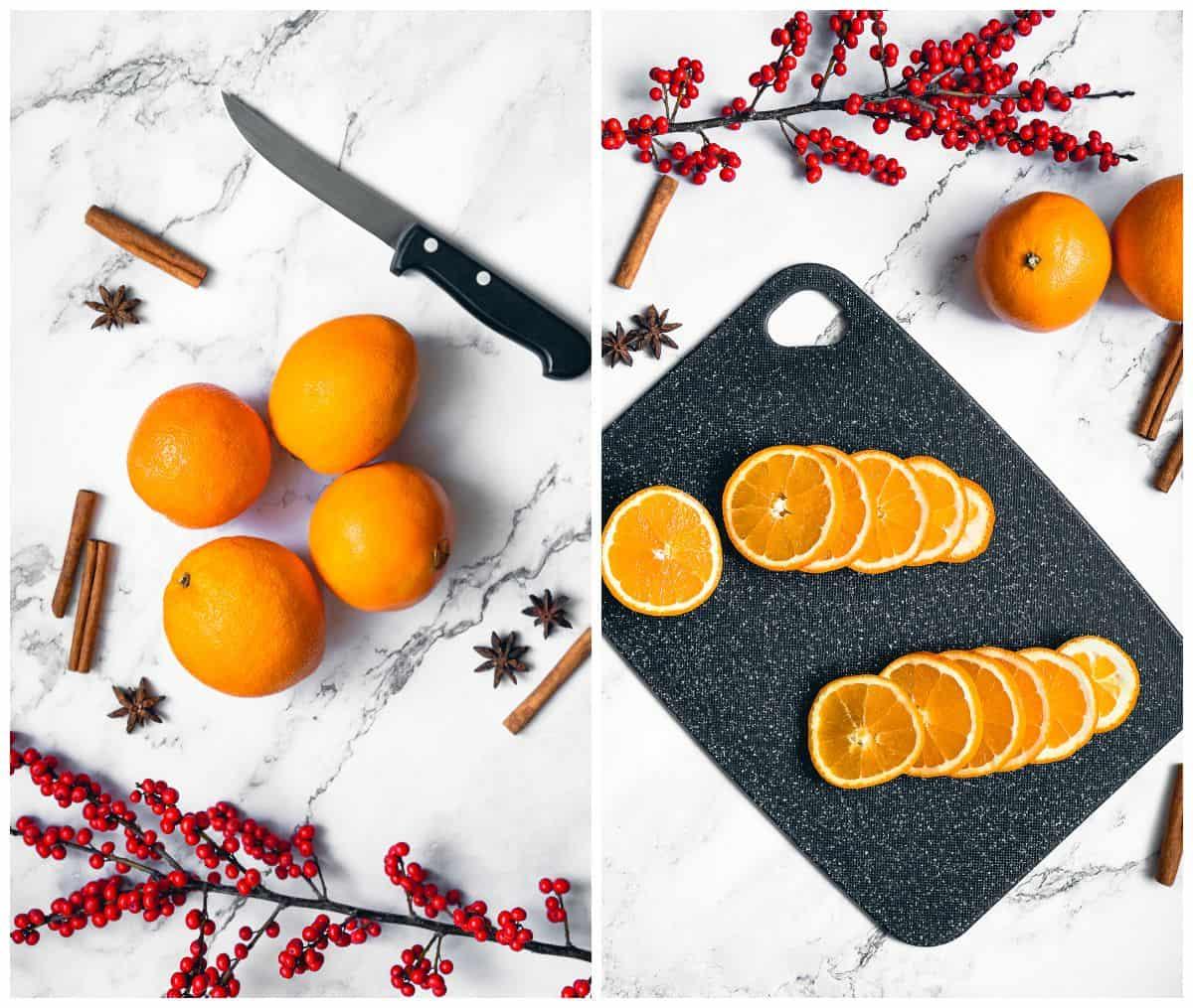 dried orange slices step by step photos