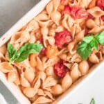 featured baked parmesan pasta