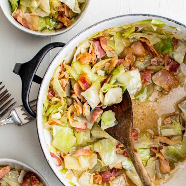 featured cabbage and bacon