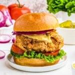 featured crispy chicken sandwich