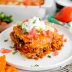 featured doritos casserole