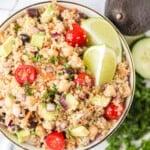 featured quinoa salad recipe