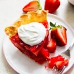 featured strawberry jello pie