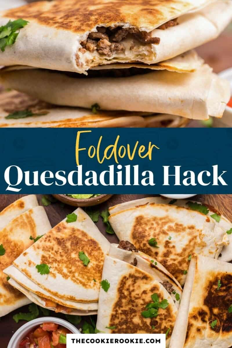 foldover quesadilla pinterest collage