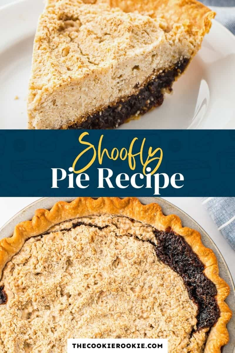 shoofly pie pinterest collage