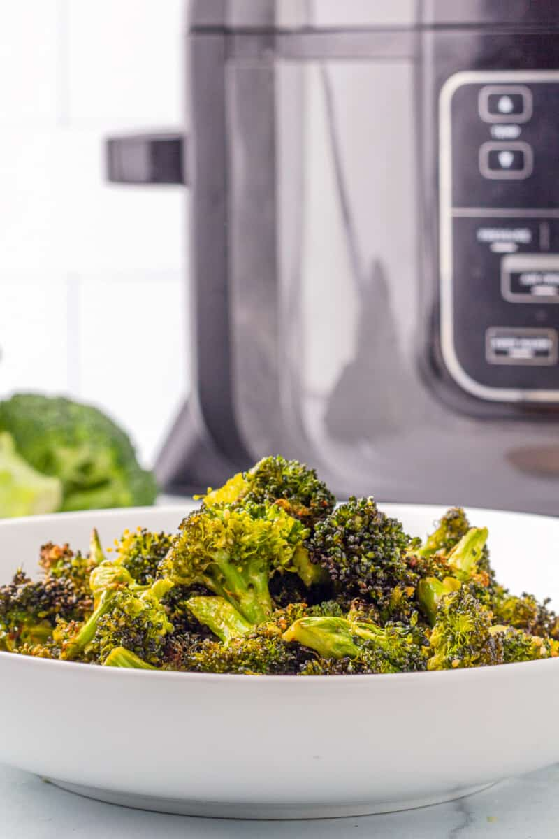ranch broccoli made in an air fryer