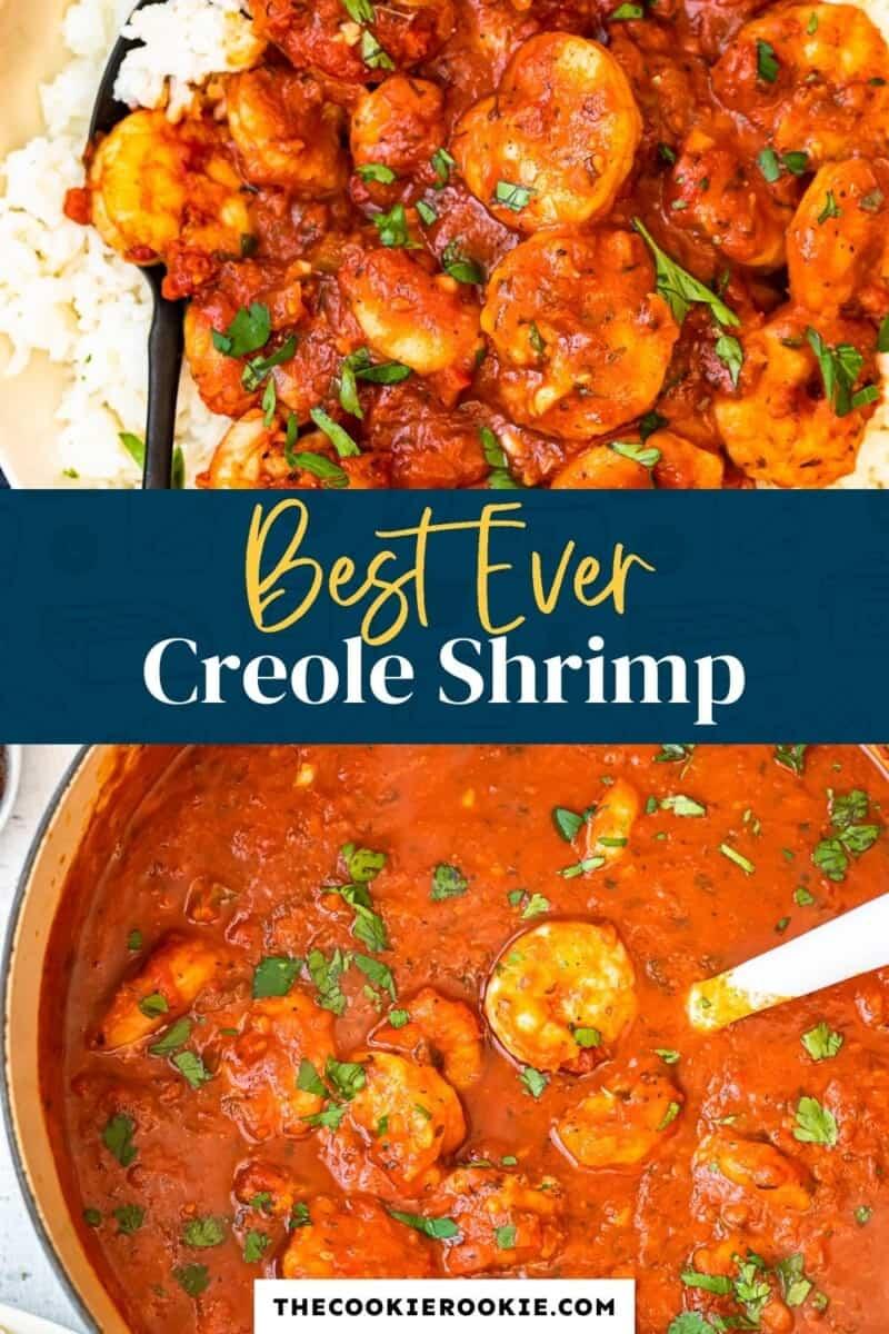 shrimp creole pinterest collage