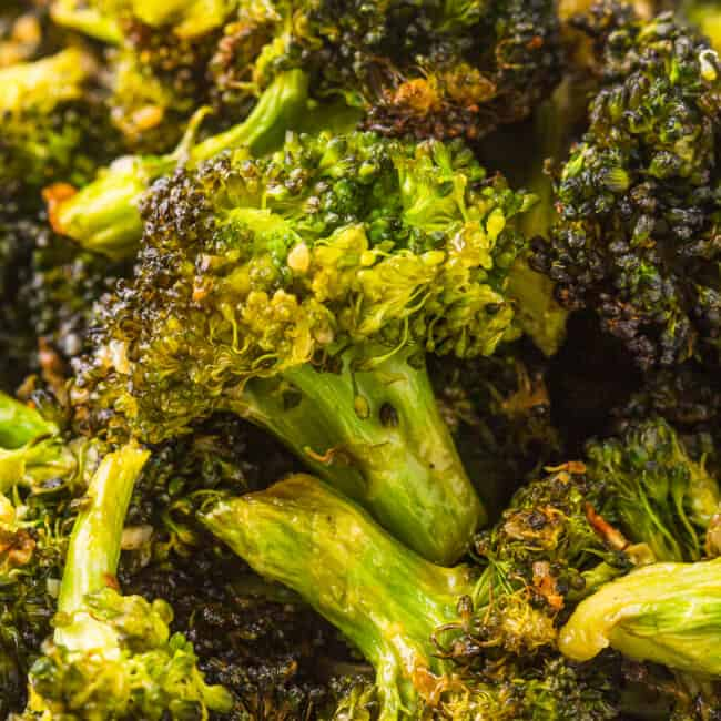 featured air fryer ranch broccoli