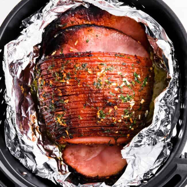 featured air fryer ham