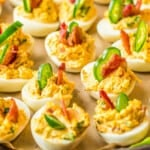 featured jalapeno popper deviled eggs