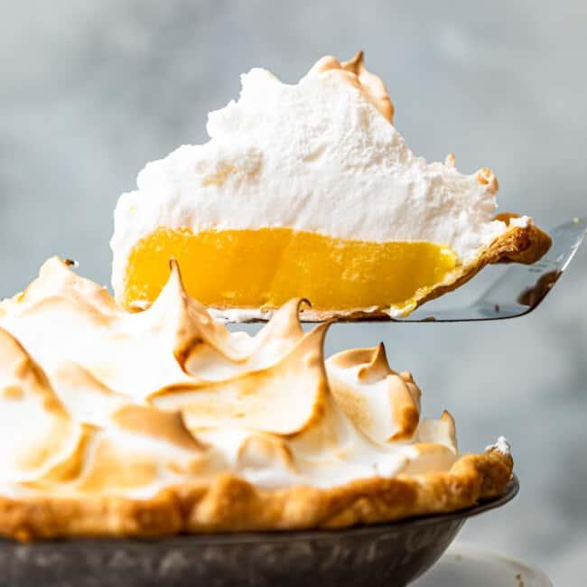 featured lemon meringue pie