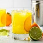 featured orange margaritas