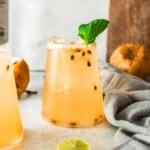 featured passionfruit margaritas