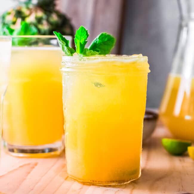 featured pineapple agua fresca