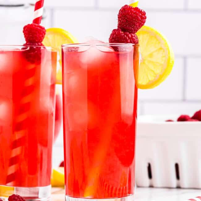 featured raspberry lemonade