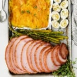 featured sheet pan easter dinner with ham