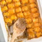 featured tater tot casserole recipe