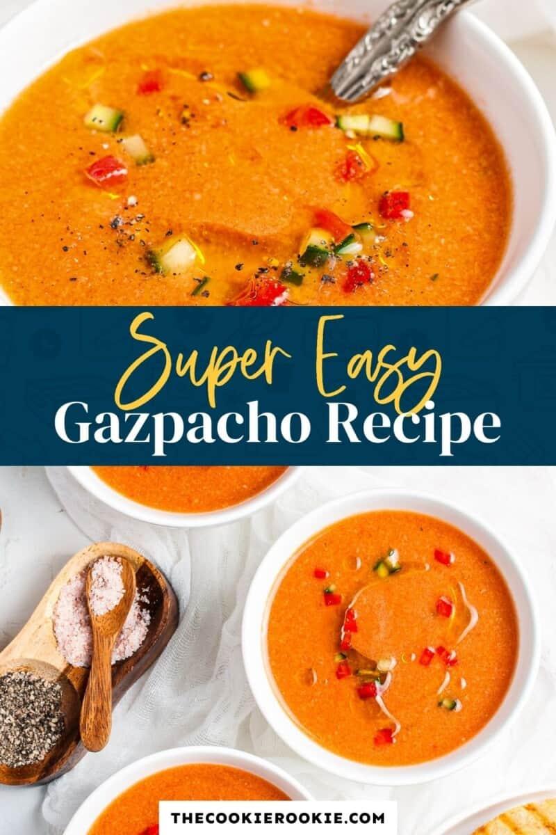 gazpacho pinterest collage