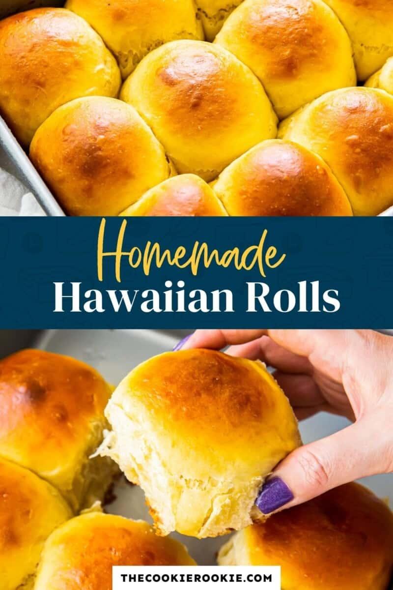 homemade hawaiian rolls pinterest
