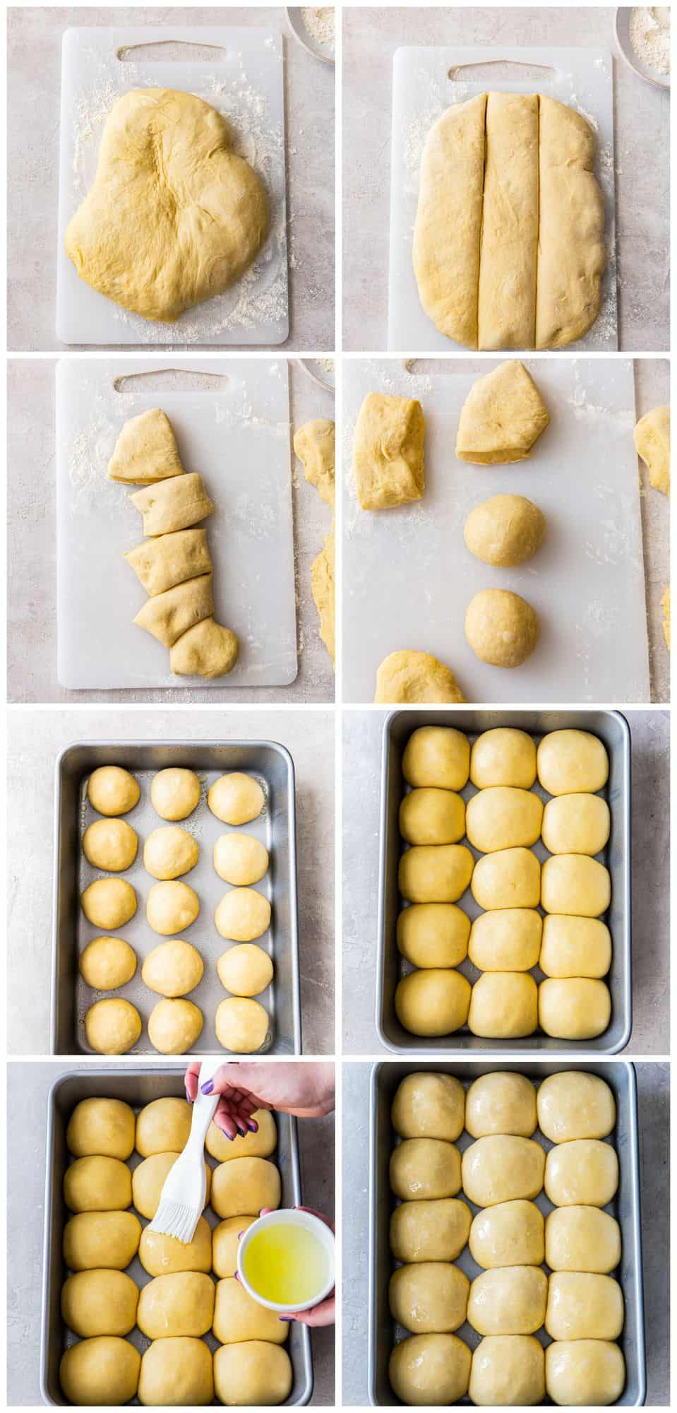 step by step photos for how to make hawaiian rolls