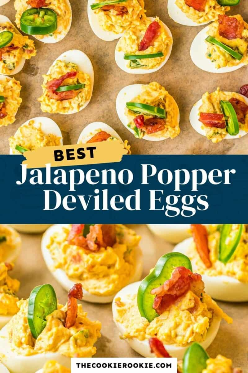 jalapeno popper deviled eggs pinterest
