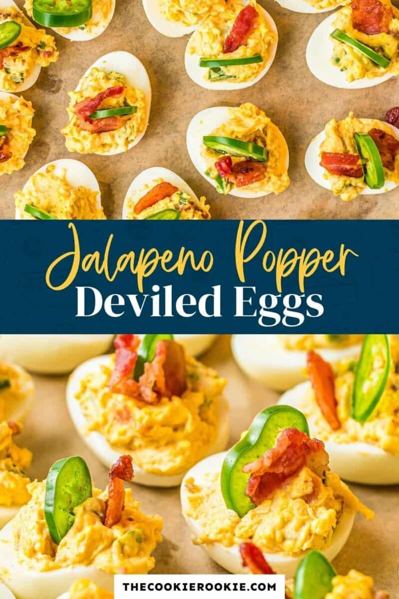 jalapeno popper deviled eggs pinterest