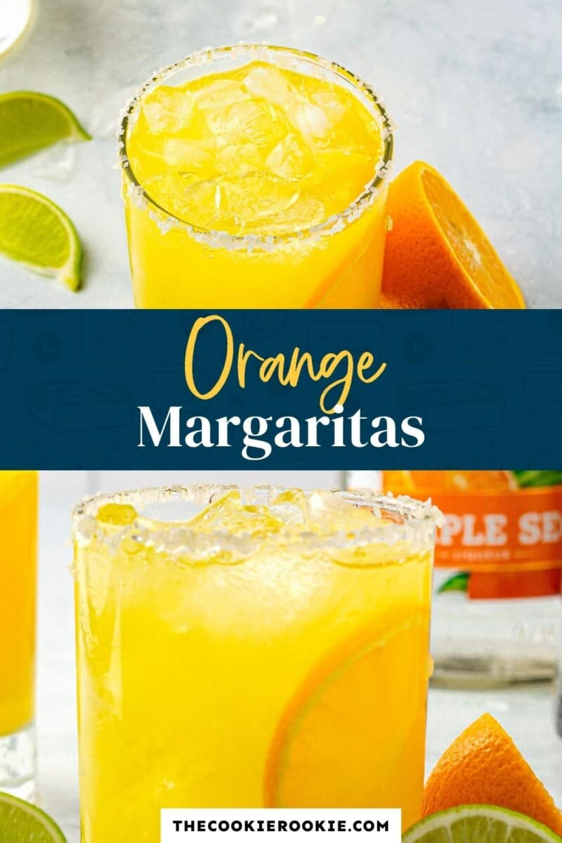 orange margaritas pinterest collage