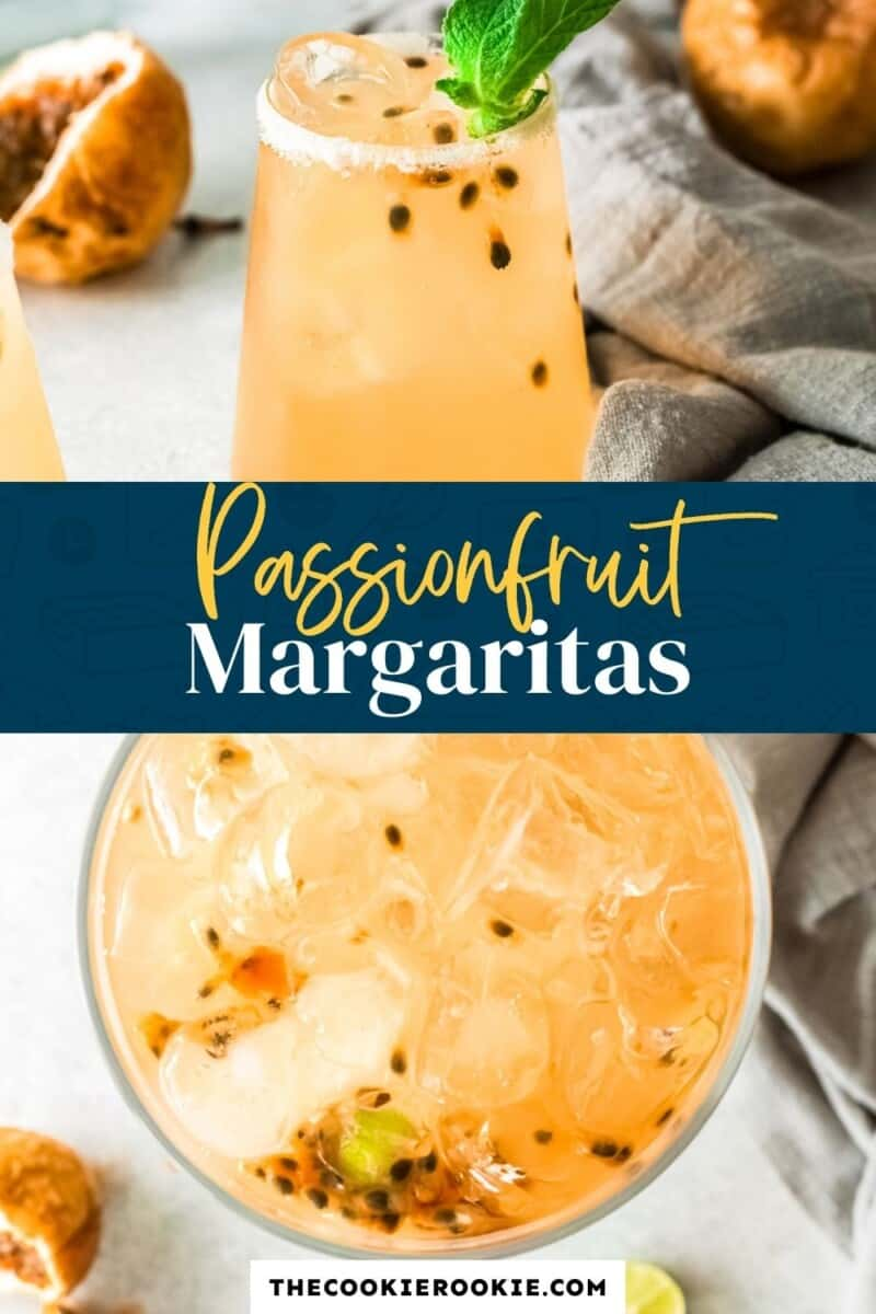 passionfruit margaritas pinterest collage