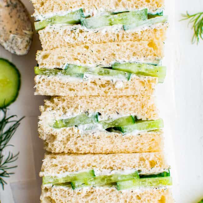 featured cucumber sandwich recipe