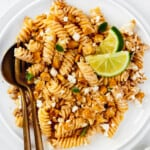 featured street corn pasta salad