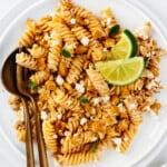 featured street corn pasta salad