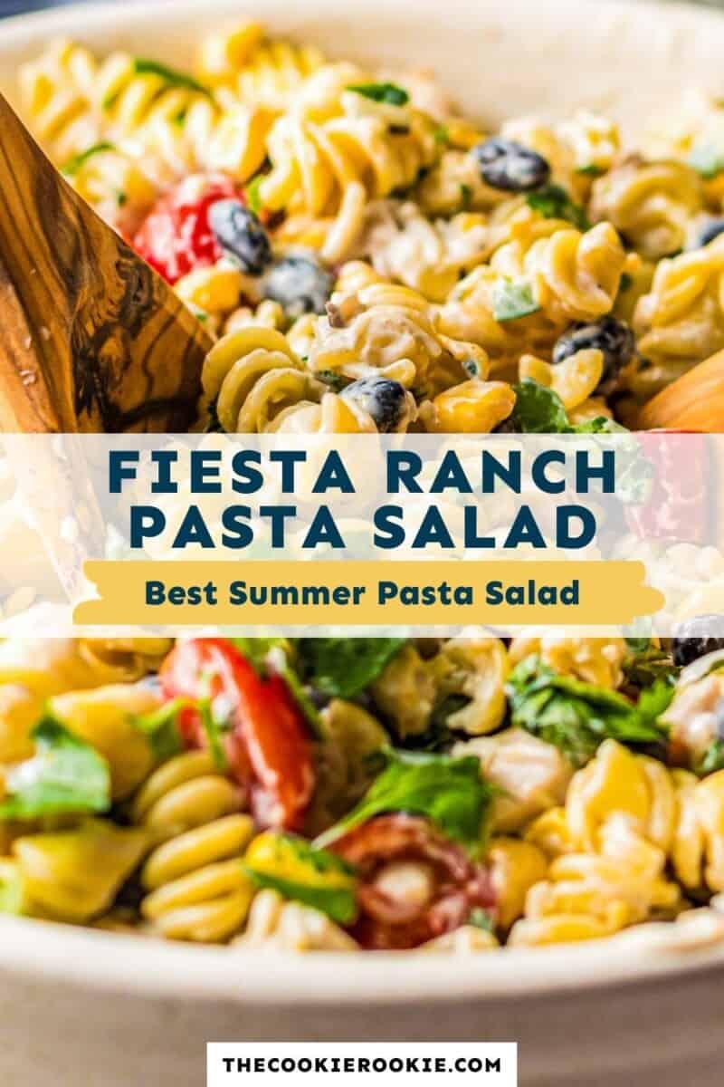 ranch chicken pasta salad pinterest collage
