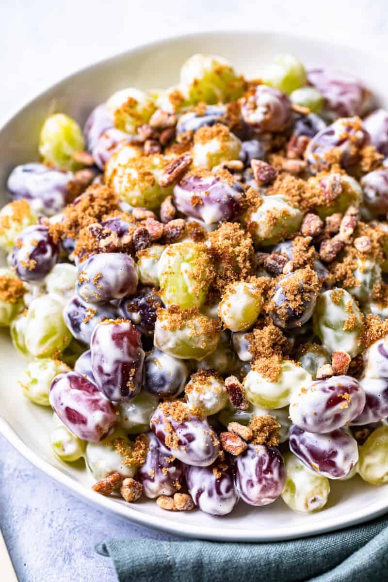 crunchy grape salad