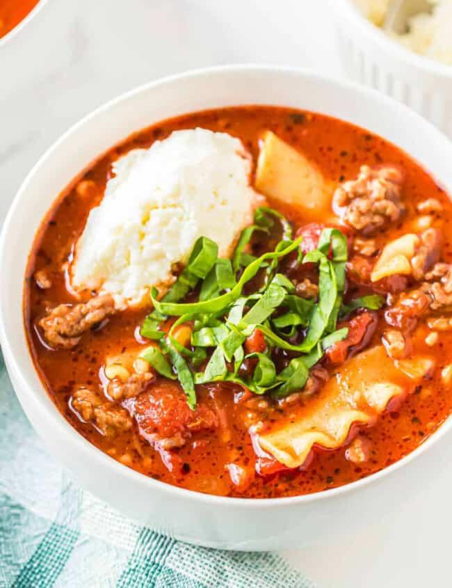 lasagna soup google