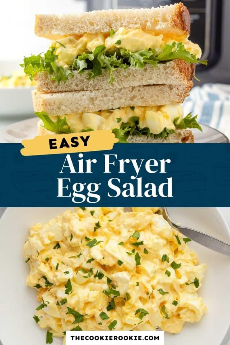 air fryer egg salad pinterest