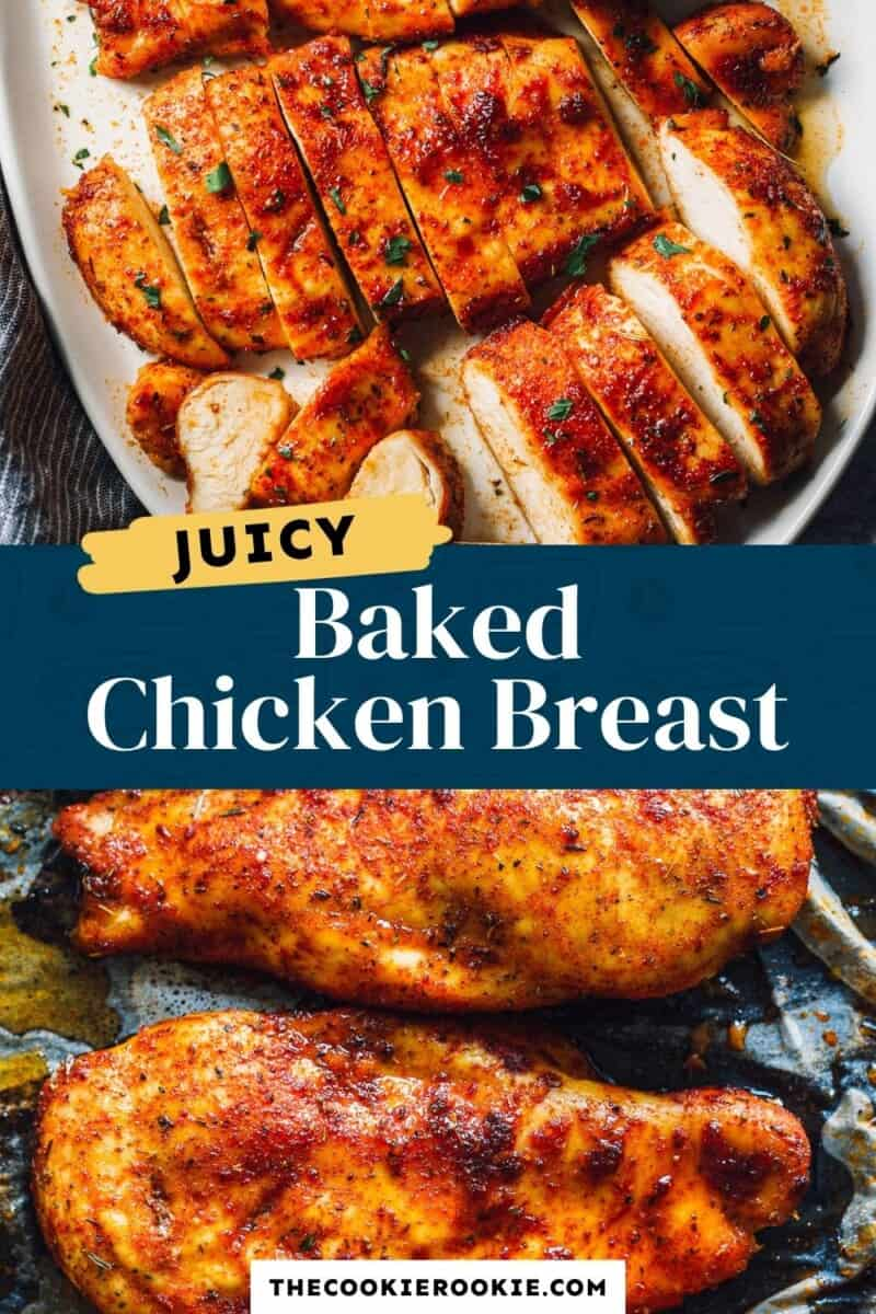 baked chicken breast pinterest