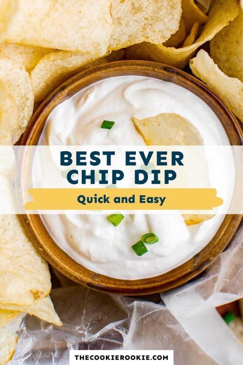 chip dip pinterest