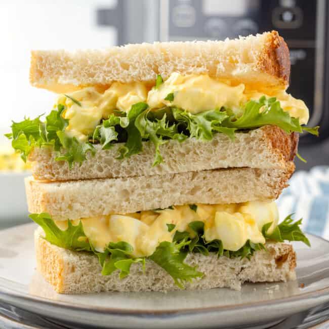 featured air fryer egg salad