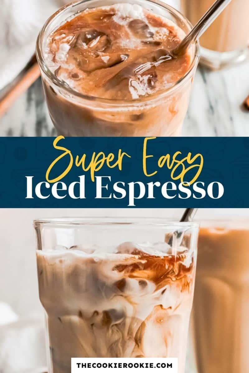 iced espresso pinterest