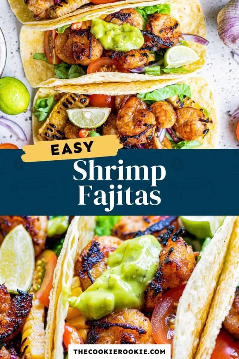 shrimp fajitas pinterest